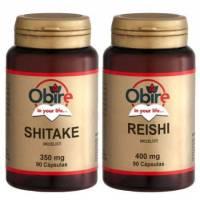 SHITAKE 90 CAPS OBIRE + REISHI  90 CAPS OBIRE