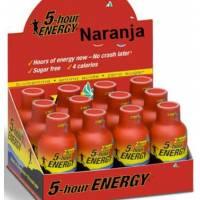 PACK 12 u. 5 HOURS ENERGY  Sabor Naranja