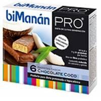 BIMANAN PRO BARRITAS CHOCOLATE Y COCO