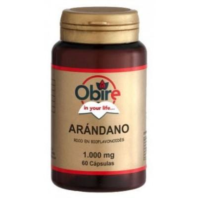comprar OBIRE ARANDANO 1000 mg (60 caps) OBIRE (Cranberry)