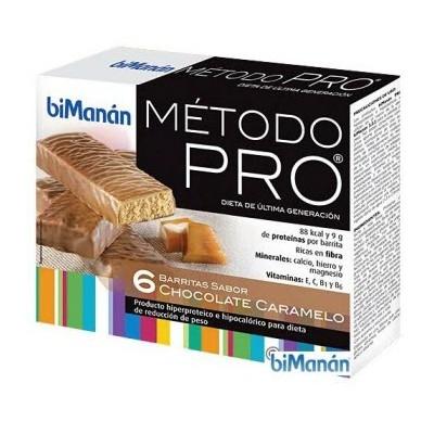 comprar Bimanan BIMANAN PRO BARRITAS CHOCOLATE CARAMELO. 6