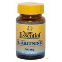 L-ARGININA 500MG 50 CAPSULAS NATURE ESSENTIAL