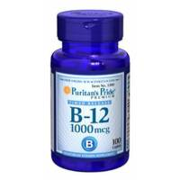 VITAMINA B-12 1000 MCG 100 TABLETAS PURITAN