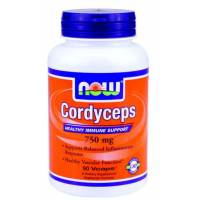 CORDYCEPS 750 MG 90 CAPSULAS NOW
