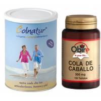 COLNATUR 300GR + COLA DE CABALLO OBIRE 100 TABLETAS