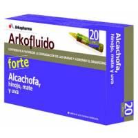 ARKOFLUIDO ALCACHOFA HINOJO FORTE 20 VIALES 15 ML