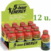 comprar 5-Hour-Energy Pack 12 u. 5 Hours Energy Sabor Lima-Limon