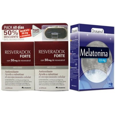 comprar Arkopharma PACK RESVERADOX 60 caps + MELATONINA 60 c.