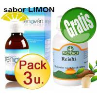 comprar Renoven PACK 3 u. RENOVEN Limon + REISHI SOTYA*