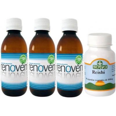 comprar Renoven PACK 3 u. RENOVEN Limon + REISHI SOTYA *