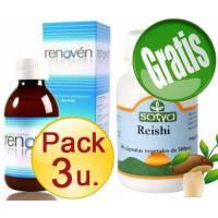 comprar Renoven PACK 3 u.RENOVEN Tradicional + REISHI SOTYA *