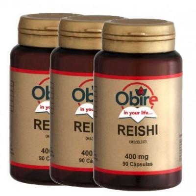 comprar OBIRE PACK 3 u. REISHI OBIRE (GANODERMA LUCIDUM) 90