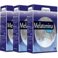 PACK 2+1 MELATONINA 1 MG 60 comp. DRASANVI