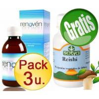 PACK 3 u.RENOVEN Tradicional + REISHI SOTYA