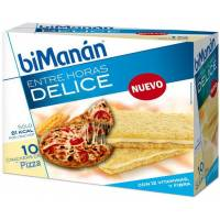 BIMANAN CRACKERS DE PIZZA DELICE. 10 UNIDADES