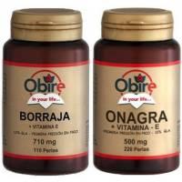 comprar OBIRE PACK ONAGRA 220 perlas + BORRAJA OBIRE 110 perlas