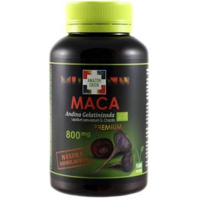 comprar Amazon-Green MACA ANDINA PREMIUM BIO GELATINIZADA 800