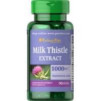 CARDO MARIANO 1000 mg 90 CAPSULAS Milk Thistle PURITAN