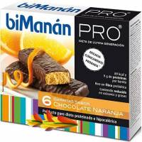BIMANAN PRO BARRITAS CHOCOLATE NARANJA