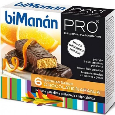 comprar Bimanan BIMANAN PRO BARRITAS CHOCOLATE NARANJA