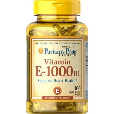 comprar PURITANS-PRIDE VITAMINA E 1000UI 100 CAPSULAS PURITAN