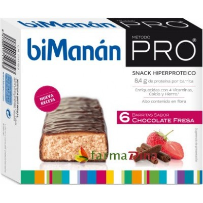 comprar Bimanan BIMANAN PRO BARRITAS CHOCOLATE-FRESA