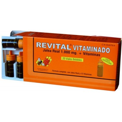 comprar REVITAL REVITAL JALEA REAL 1000 MG VITAMINADO