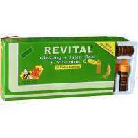 REVITAL GINSENG JALEA REAL VITAMINA C 20 AMP.