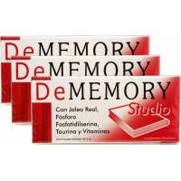 comprar DeMEMORY PACK 3 U. DeMEMORY STUDIO 30 CAPSULAS