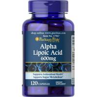 ACIDO ALFA LIPOICO 600MG 120 CAPSULAS (Alpha Lipoic Acid) PURITAN