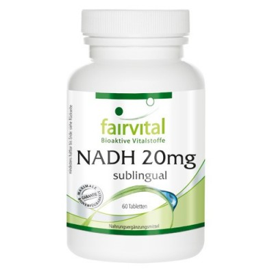 comprar FAIRVITAL NADH 20 MG 60 TABLETAS SUBLINGUAL