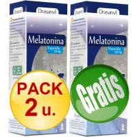 PACK 2+1 MELATONINA GOTAS 50 ML 1 MG LIQUIDA