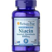 NIACIN 1000 MG 60 CAPSULAS PURITAN PRIDE