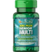 ABC PLUS SENIOR MULTIVITAMINAS 60 TABLETAS PURITAN