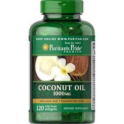 Comprar Aceite De Coco 1000mg 120 Capsulas Puritan Farmadina Com