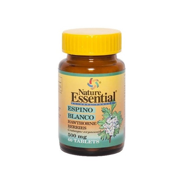 Comprar ESPINO BLANCO 500MG 60 CAPSULAS NATURE ESSENTIAL