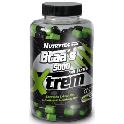 comprar XTREM BCAAS 5000 XTREM 120 CAPSULAS