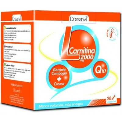 comprar Drasanvi L-CARNITINA 2000 MG 20 VIALES DRASANVI