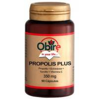 PROPOLIS PLUS 400 MG 90 CAPSULAS (PROPOLIS + ECHINACEA + TOMILLO + VITAMINA C) OBIRE