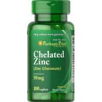 ZINC QUELADO 50MG 100 TABLETAS (ZINC CHELATE)
