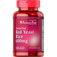 LEVADURA ARROZ ROJO 120 CAPS 600 MG PURITAN (RED YEAST RICE)