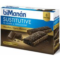 BIMANAN CHOCOLATE INTENSO BARRITAS 8 U.