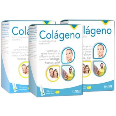 comprar ELADIET PACK 3U COLAGENO + A.H.+VIT C 30 SOBRES ELADIET
