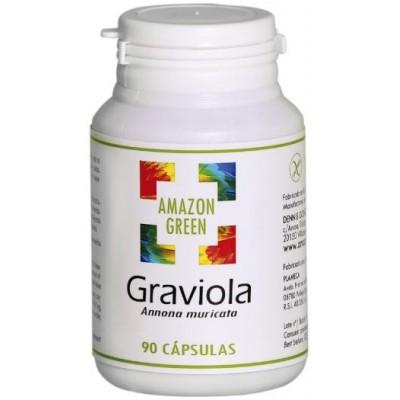 comprar Amazon-Green GRAVIOLA 500MG 90 CAPSULAS AMAZON GREEN