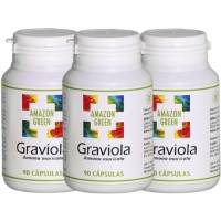 comprar Amazon-Green PACK 2+1 GRAVIOLA 500MG 90 CAPSULAS AMAZON
