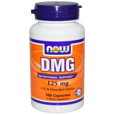 comprar NOW-FOODS DMG N-DIMETILGLICINA 125MG. 100 CAPS NOW