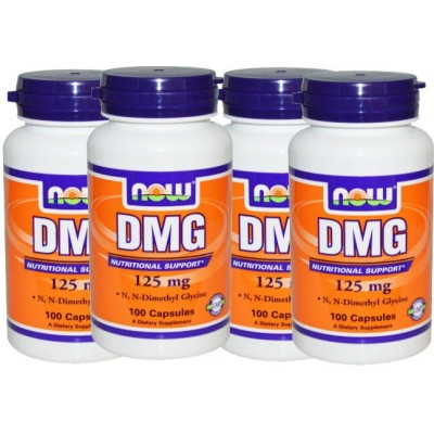 comprar NOW-FOODS PACK 3+1 DMG N-DIMETILGLICINA 125MG. 100 CAPS
