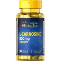 L-CARNOSINA 30 CAPSULAS 500 MG PURITAN PRIDE