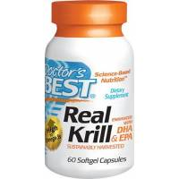 REAL KRILL 60 CAPSULAS BEST DOCTOR EPA/DHA