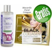 CHAMPU DE CEBOLLA 250 ML PRISMA NATURAL + MASCARILLA *